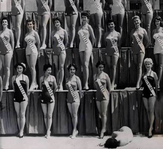 1954 оны 7-р сарын 15-нд Лонг Бичэд Дэлхийн мисс шалгаруулах тэмцээн дээр Шинэ Зеландын мисс ухаан алдан унасан нь.