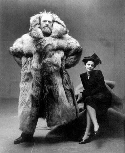 Туйлын судлаач Петер Фрейхен эхнэрийн хамт. 1947 он.