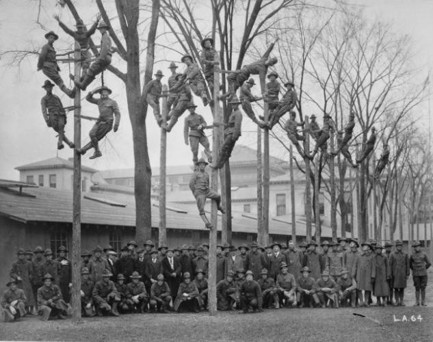 Цахилгаанчдын зураг. 1918 он.
