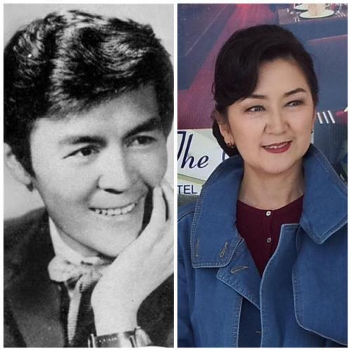 Лоолийн Жамсранжав - Монгол Улсын Ардын жүжигчин. Охин Оюундарь - МУГЖ.