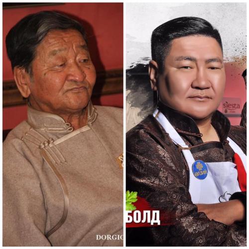 Түмэнгийн Намсрайжав - Монгол улсын гавьяат зүтгэлтэн. Хүү Монгол улсын гавьяат жүжигчин Н. Ариунболд Бооёо.