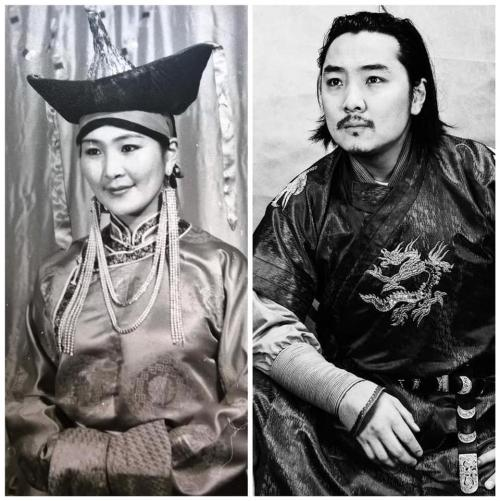 Самбуугийн Сарантуяа - Монгол улсын ардын жүжигчин. Хүү Тамир жүжигчин, найруулагч СТА